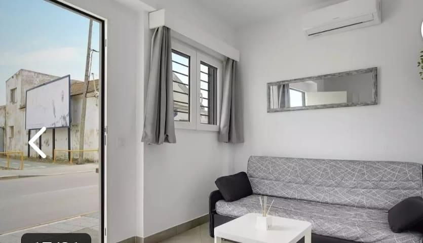 Acojedor apartamento muy luminoso cerca del centro y la playa, wifi, aire acondicionado, barbate Costa de la luz