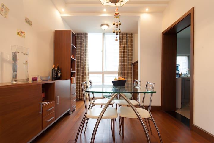 Neat cozy room near Century Avenue - Shanghai