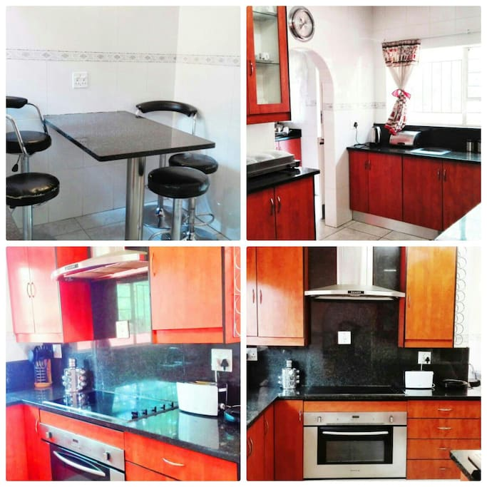 This shows the kitchen
