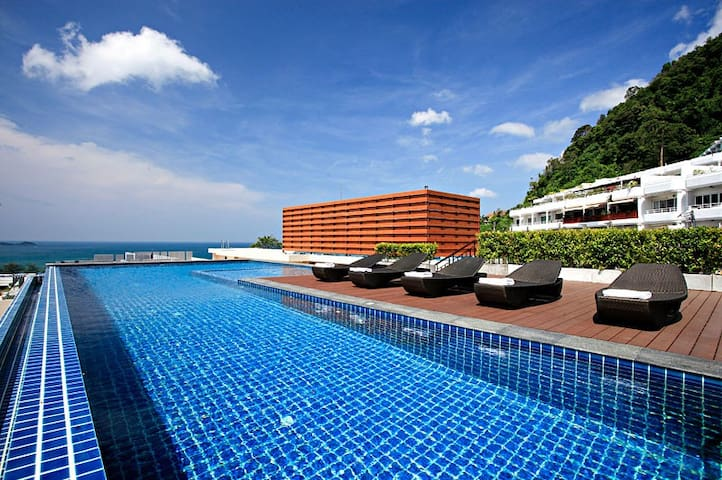 ✈Sea-view 80sqm-1 Bedroom Home-Patong Beach