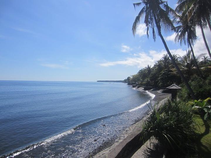 Villa Selina, bungalow sur la plage