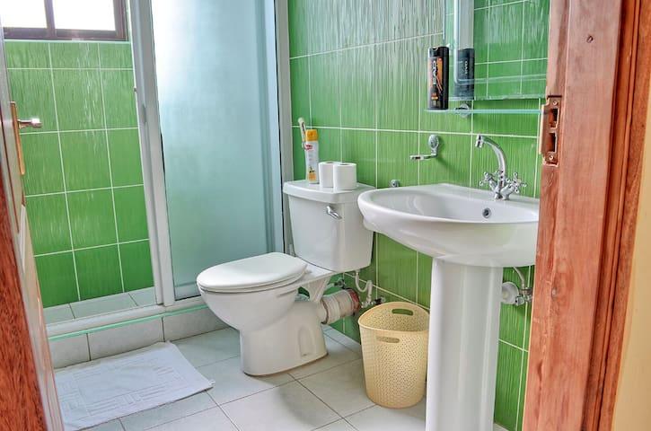 Green Room Washroom