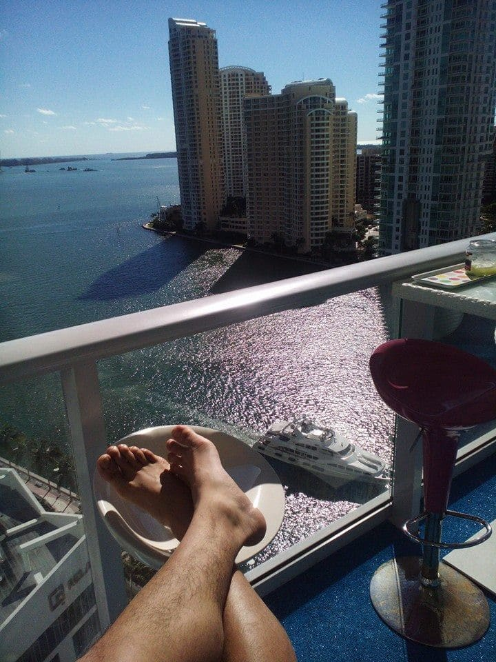 Brickell 18 floor ocean view