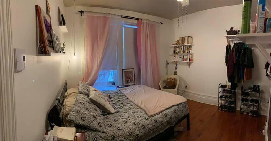 Chambre cosy sur le plateau - Filles uniquement -