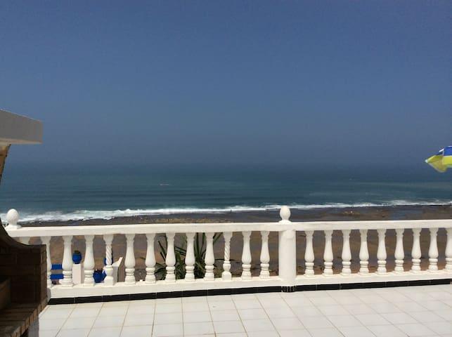 vue sur mer depuis la terrasse
