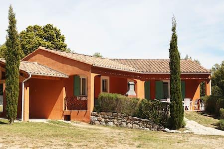Villa les ocres à proximité du Colorado Provençal - Rustrel - วิลล่า