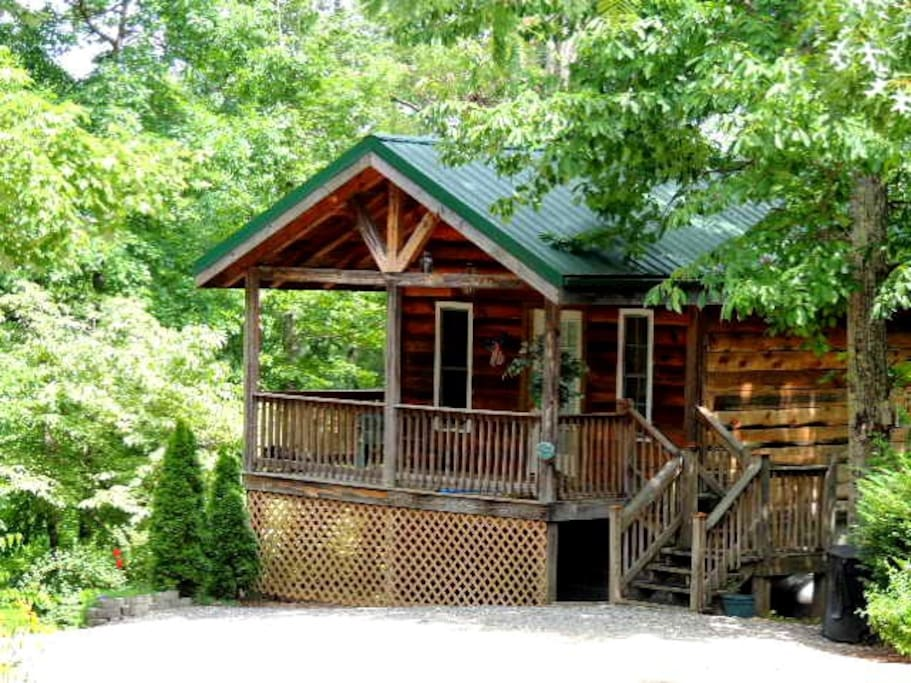 Edelweiss Cabin Near Lake Lure Chimney Rock And Tiec Cabins For Rent In Lake Lure