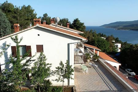 Four bedroom apartment with balcony and sea view Rabac, Labin (A-3011-a) - Рабач - Квартира