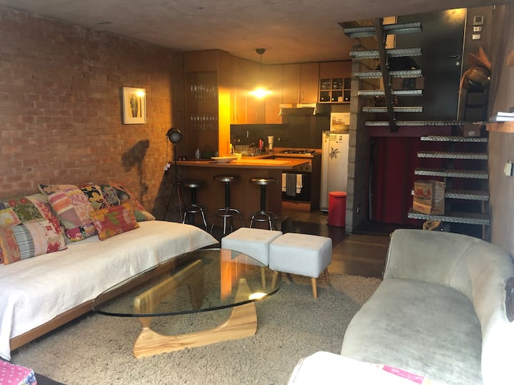 Loft, walking distance from Plaza Ñuñoa