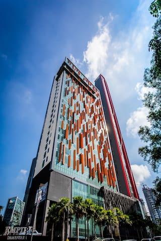 Qliq Damansara Hotel, 14 nights Long Stay