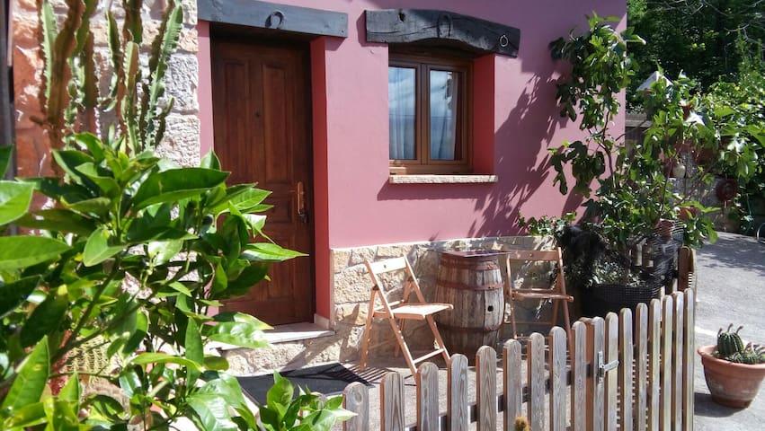 habitacion baño y tv en zona rural - cangas de onis  - Hus