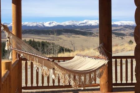 Premium Log Cabin with Views Views! - Fairplay