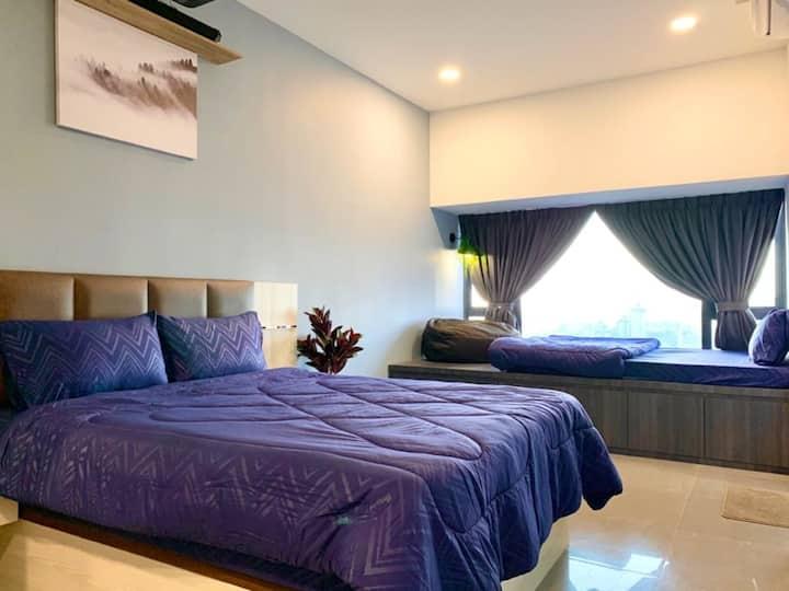Imperio.Res | Melaka Raya | Comfy | Sunset View