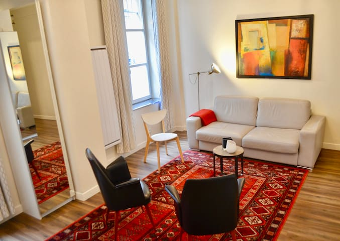 1bedroom flat in the heart of the Marais area