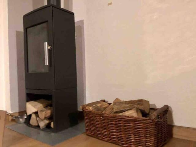 Gemütliche und Tierfreundliche Wohnung mit Kamin