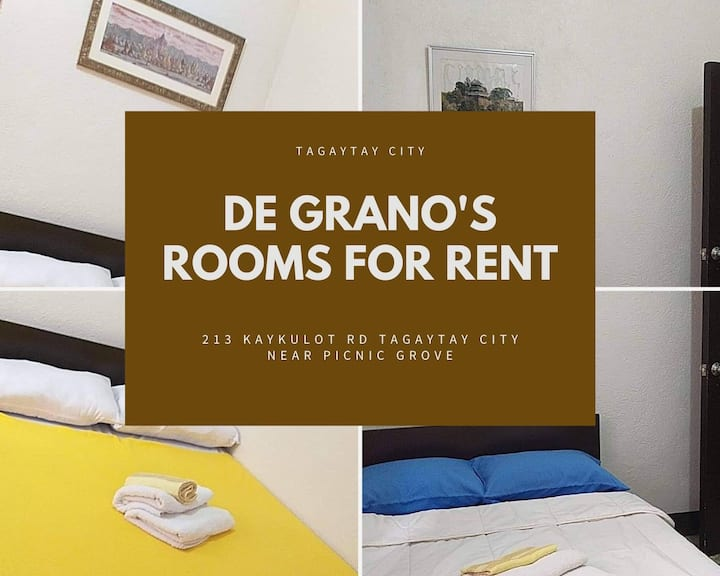 Tagaytay City Budget Rooms for Rent - Room 2