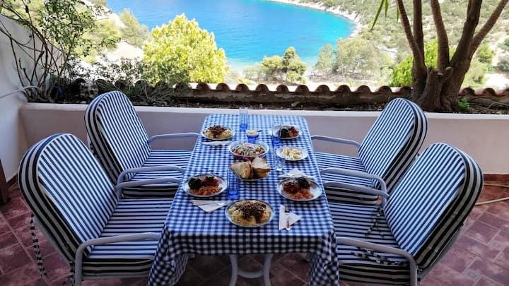 Luxury Seaside Maisonette with breathtaking view