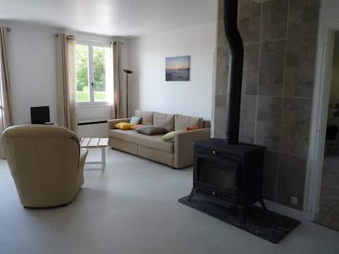 Maison calme et spacieuse à Beaulieu les Loches