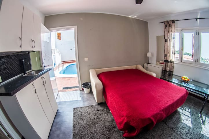 Perfect apartment for 4 pax + private pool & Gym - Costa Adeje - Lakás
