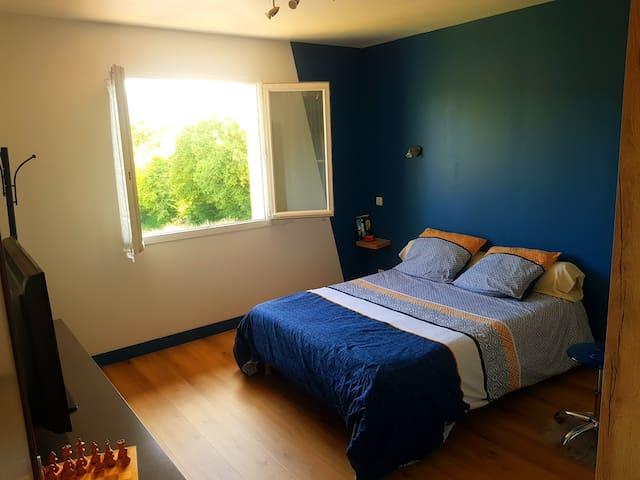 Une chambre où il fait bon de s'arrêter.