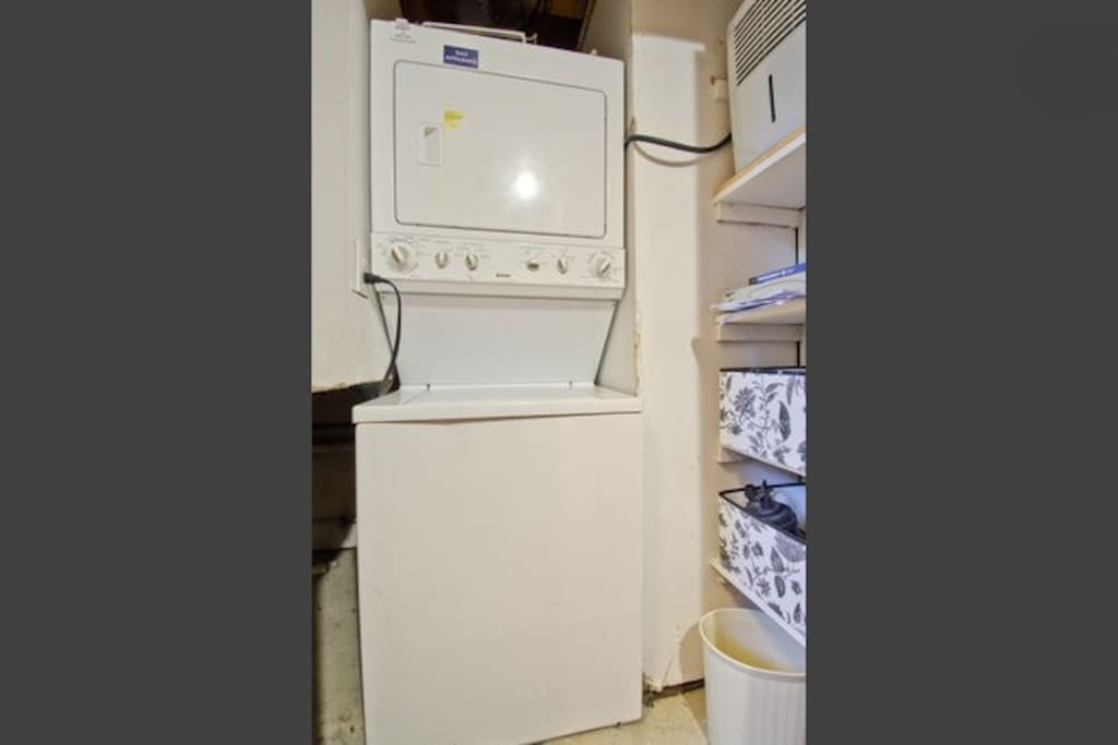 Washer and dryer on premise!