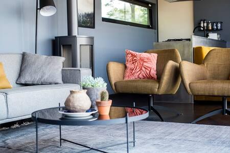 Design vakantiehuis Bergvliet met Hottub en Sauna