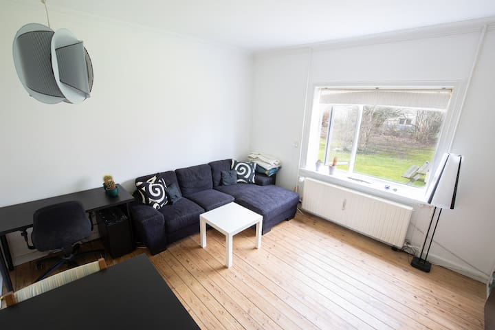 Bright and cozy 1 DB. flat in the CPH suburbs.