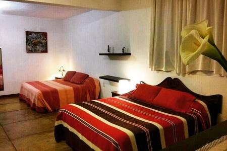 Villa Oaxaca, Suite Roja, desayuno incluido - 瓦哈卡