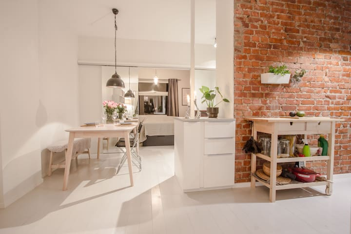 """New York"" inspired apartment centrally located - Oslo - Apartament"