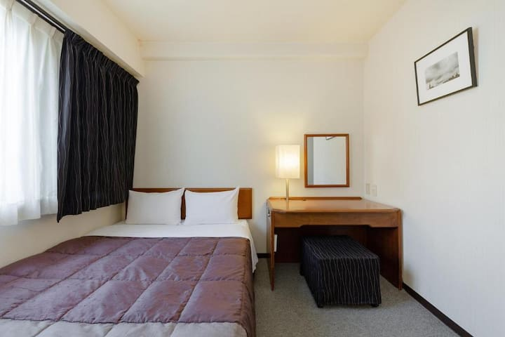 Plaza Hotel Tenjin/Double Room/Non-Smoking