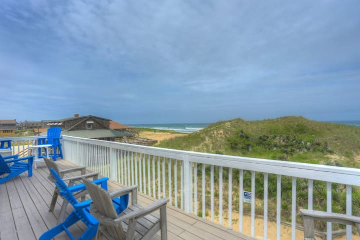 5237 Carpe Dune * Oceanfront * Walk to Restaurants & Shops
