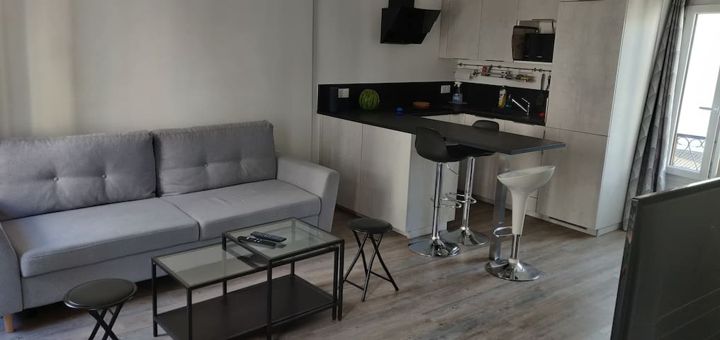 Appartement à 10 min de Paris/25min de Euro Disney