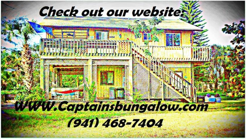 Captains Bungalow - Placida - Hus