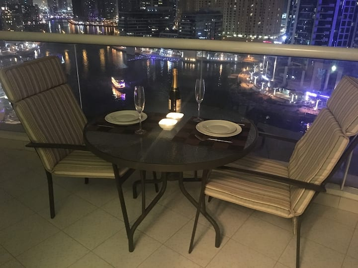 Stunning 2BR Marina view apartment