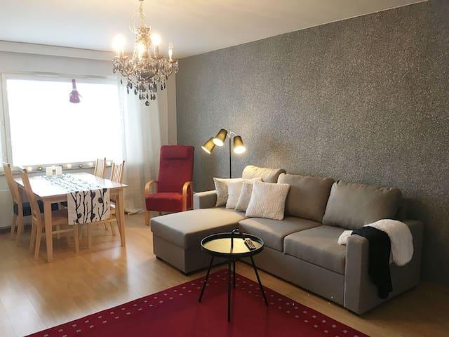 Arctic Apartment in Santa's City Rovakatu 25 D 34