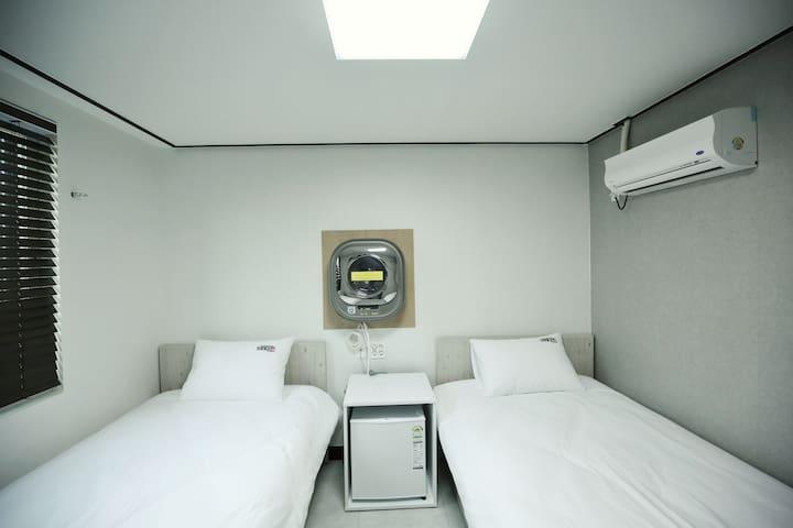 1인실-침대하나사용