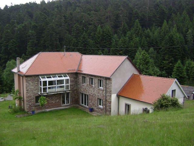 Gite Hansel de la ferme du Schneeberg - Alsace