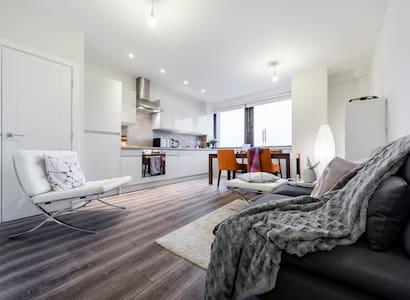Modern Scandi 2 Bed Flat in North London - New Barnet