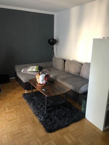 Gemütliche Wohnung mit Anbindung zum Zentrum