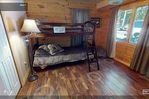Guest Bedroom 1 twin bunk beds