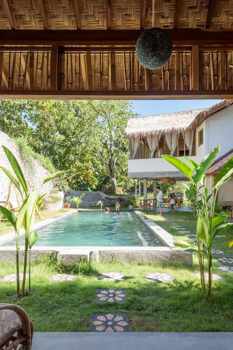 Lombok Pool House