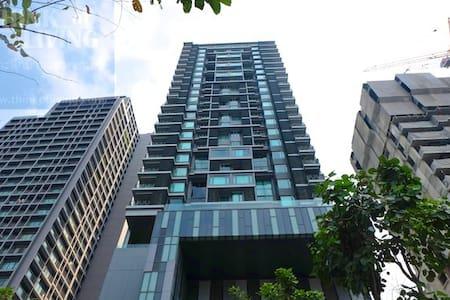 57sqm1Bedroom/pool/gym/Thonglo BTS/carpark - Bangkok - Appartement en résidence