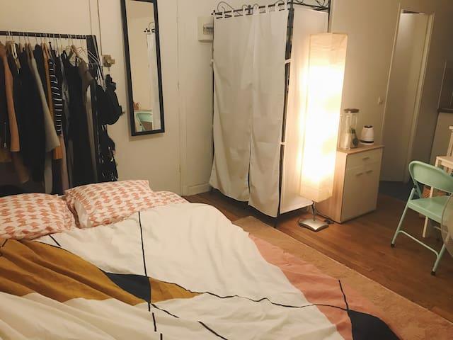 Studio 20 m2 Double Bed Next to Arc de Triomphe