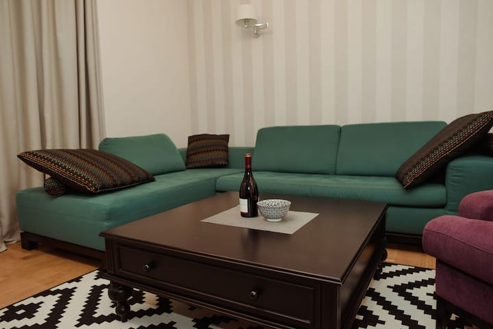 Opera apartman is in center of city Subotica