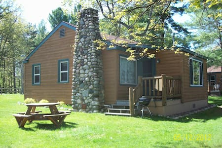 Lake Minocqua 3 Bedroom Resort Cabin - Minocqua - Blockhütte