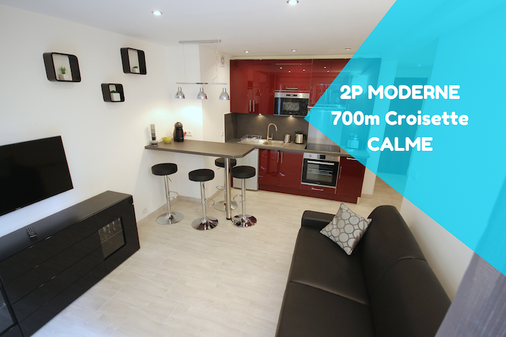 Close Palais - Calm - Brand New - Cannes - Apartamento