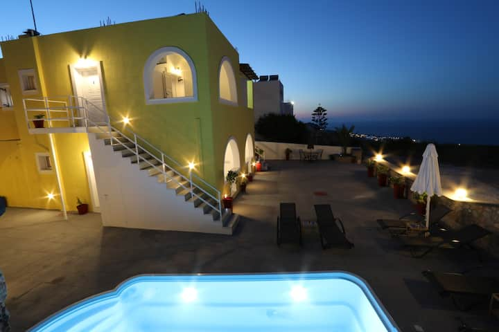 Villa for 8 people in Imerovigli