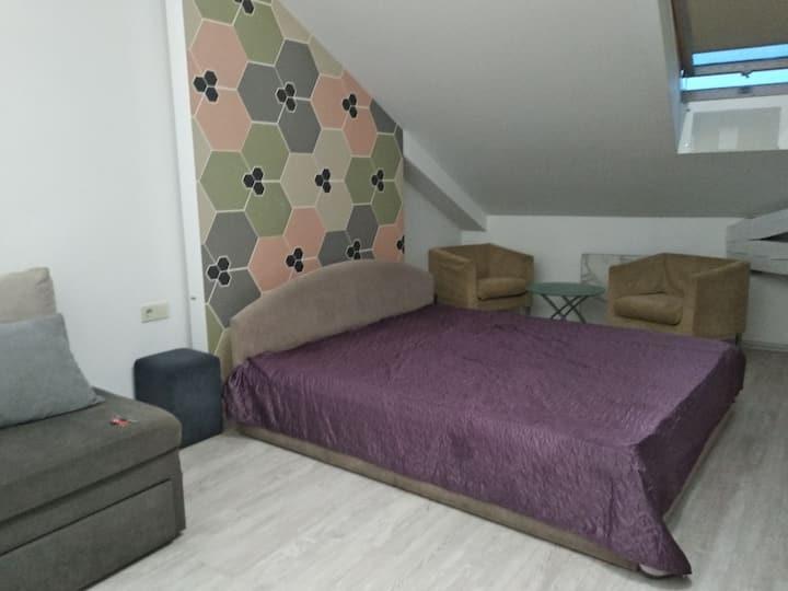 Квартира в мансарде на Майдане Незалежности.