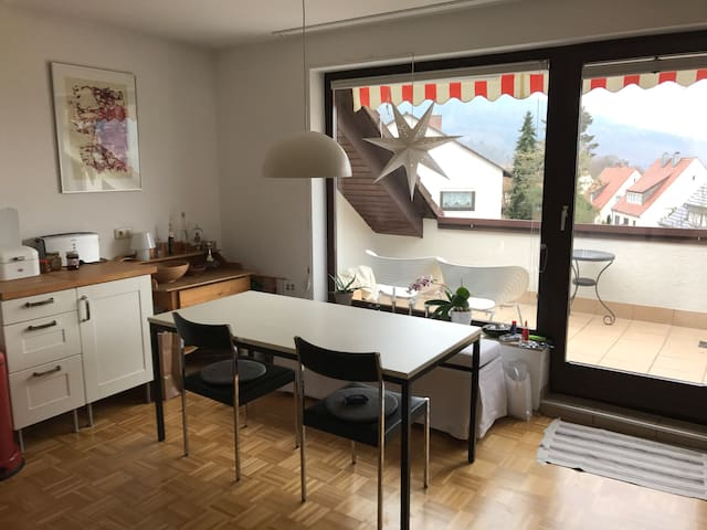 schöne, helle, möblierte Wohnung in Miltenberg - Miltenberg - Departamento