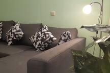 Doble sofá-bed